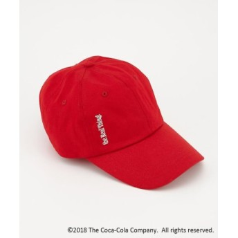 (SLY/スライ)COCA-COLA BY SLY CAP/レディース RED