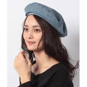 (Rirandture/リランドチュール)コーデュロイベレー帽/レディース ダスティー
