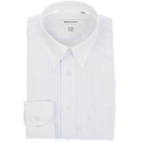 【THE SUIT COMPANY:トップス】【COOL MAX】クレリック&ボタンダウンカラードレスシャツ 〔EC・FIT〕