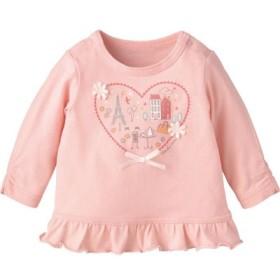(Combimini/コンビミニ)Tシャツ(パリ)/レディース ピンク