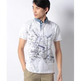 (Desigual/デシグアル)ポロシャツショート袖/メンズ ホワイト系