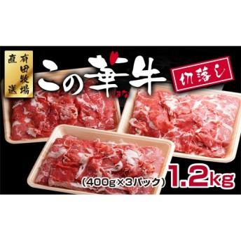 宮崎県産この華牛 ショートスライス切落し(3パック)