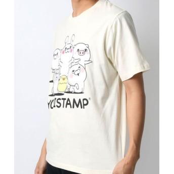 マルカワ ヨッシースタンプ 半袖Tシャツ メンズ 柄2 M 【MARUKAWA】