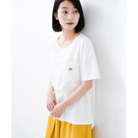 (haco!/ハコ)別注Lee パイルポケットTシャツ/レディース ホワイト
