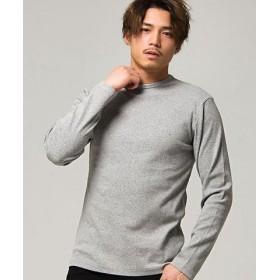 (SILVER BULLET/シルバーバレット)CavariA【キャバリア】ネックが選べるスパンテレコ長袖Tシャツ/メンズ グレー系1