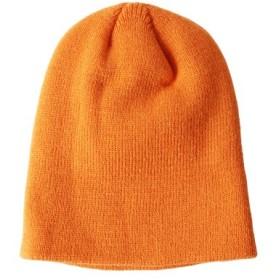 (JIGGYS SHOP/ジギーズショップ)ミニリブニット帽/ニット帽 ニットキャップ 帽子 ビーニー帽 ビーニー ニット キャップ/メンズ オレンジ