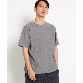DRESSTERIOR(Men)(ドレステリア(メンズ)) 【洗える】ミニパイル刺しゅうTシャツ