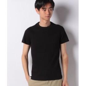 (EDWIN/エドウィン)EDWIN リブ クルーネック Tシャツ 半袖/メンズ ブラック
