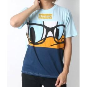 (MARUKAWA/マルカワ)【Disney】ディズニー 切り替え 半袖Tシャツ/メンズ 柄4