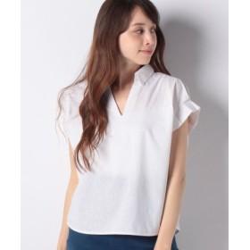 (Te chichi/テチチ)Lugnoncure 接触冷感 袖タックスキッパーシャツ/レディース オフ
