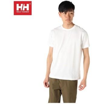 ヘリーハンセン HELLY HANSEN Tシャツ 半袖 メンズ バックロゴ HE61903 W
