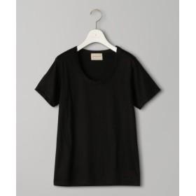 (UNITED ARROWS/ユナイテッドアローズ)UBCB Uネック Tシャツ/レディース BLACK 送料無料