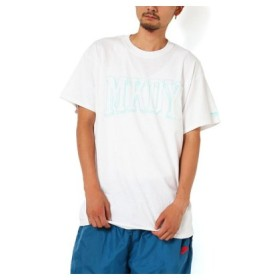 (atmos/アトモス)MACKDADDY MKDY COLLEGE S/S POCKET TEE WHITE/メンズ ホワイト