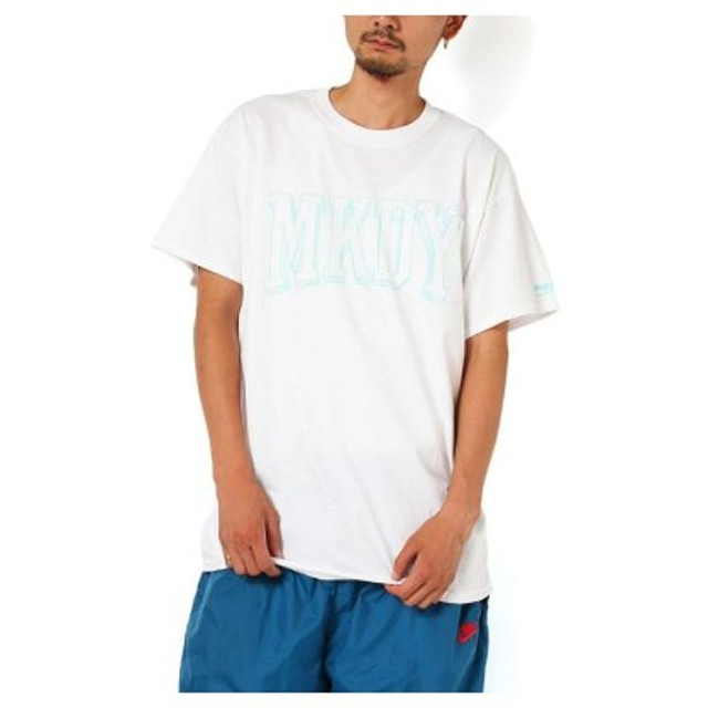 (atmos/アトモス)MACKDADDY MKDY COLLEGE S/S POCKET TEE WHITE/メンズ ホワイト 送料無料