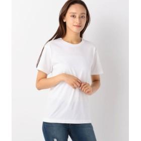(UNRELISH/アンレリッシュ)ヘインズクルーネックTシャツジャパンフィット/レディース シロ