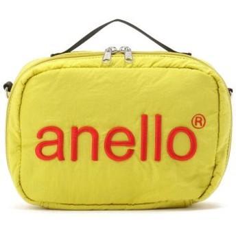(LHP/エルエイチピー)anello/アネロ/HDT立体刺繍ネーム ショルダーバッグ《AT-H1902》/レディース YELLOW
