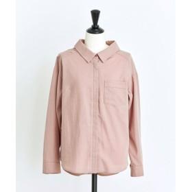 (Noela/ノエラ)【non-no11月号掲載】バックフリルシャツ/レディース ピンク