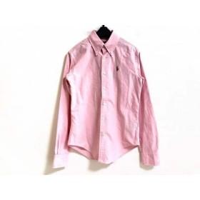 【中古】 ラルフローレン RalphLauren 長袖シャツ サイズ0150/80A メンズ ピンク