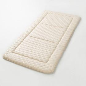 【日本製】抗菌防臭加工生地・綿わた使用少し硬めの敷き布団