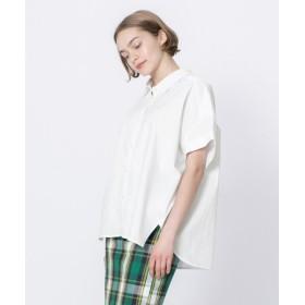 【12%OFF】 センスオブプレイス ビッグシャツ レディース OFFWHITE FREE 【SENSE OF PLACE】 【セール開催中】