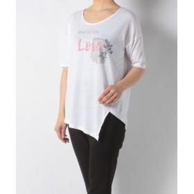 (Desigual/デシグアル)Tシャツ/レディース ホワイト系