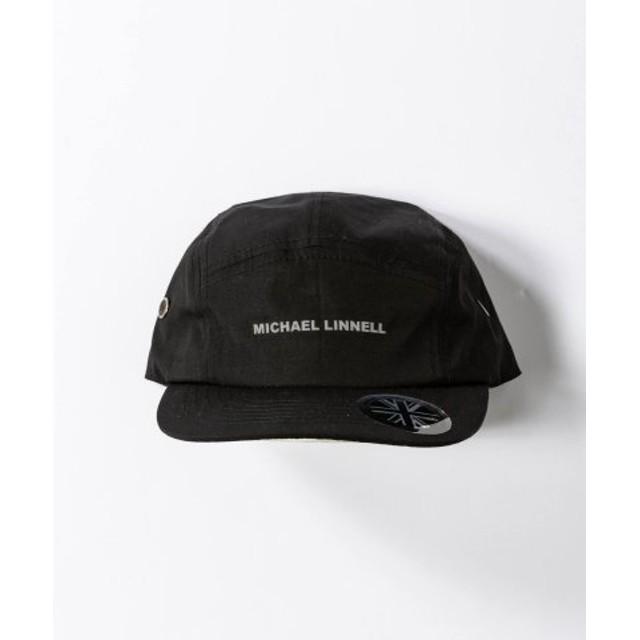 (SHIFFON/シフォン)MICHAEL LINNELL(マイケルリンネル) ジェットキャップ/メンズ ブラック系1