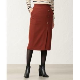 (TRANSWORK/トランスワーク)【美Skirt】【ウォッシャブル】チェルビックタイトスカート/レディース モカ