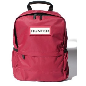 (HUNTER/ハンター)ORIGINAL NYLON BACKPACK/ユニセックス ミリタリーレッド