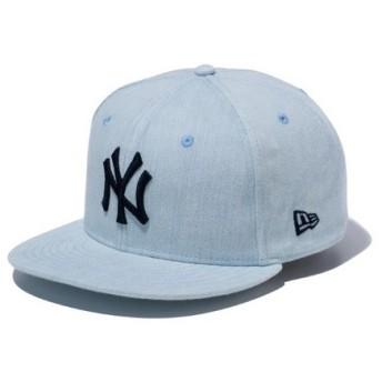 ニューエラ(NEW ERA) 9FIFTY ブリーチデニム ニューヨーク・ヤンキース ブリーチデニム 11901182 (Men's)