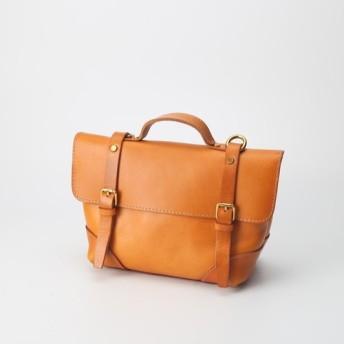 本革手作りのクラシックトートバッグショルダーバッグ 小さい