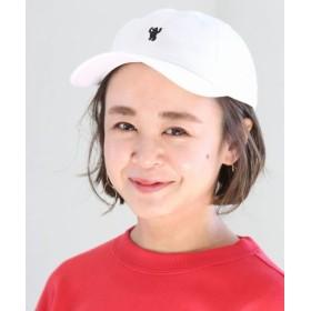 (coen/コーエン)コーエンベア刺繍ベースボールキャップ/ユニセックス WHITE