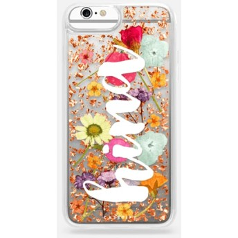 CASETiFY iPhone 6s Plus ケース iphone iPhone 6s Plus ケース 押し花 iPhone ケース プレスドフラワー iPhone カバー プレ