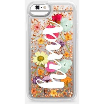 CASETiFY iPhone 6s ケース iphone iPhone 6s ケース 押し花 iPhone ケース プレスドフラワー iPhone カバー プレスフラ