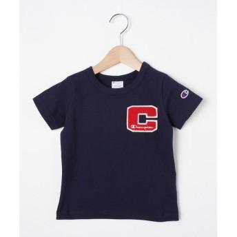 Tシャツ - HusHusH 【Champion】100-140cm 「C」ロゴTシャツ