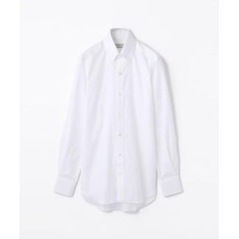 (TOMORROWLAND/トゥモローランド)140/2コットンロイヤルオックスフォード ボタンダウン ドレスシャツ NEW BD-4/メンズ ホワイト 送料無料