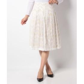 (ADIEU TRISTESSE/アデュー・トリステス)【ADIEU TRISTESSE】刺繍入りスカート/レディース ホワイト