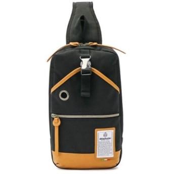 (GALLERIA/ギャレリア)ビアンキ ボディバッグ Bianchi ワンショルダー DIBASE タブレット収納 NBTC-10 NBTC-10B/メンズ ブラック 送料無料