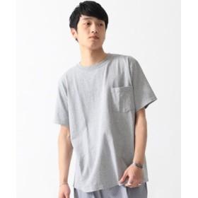 (BEAMS MEN/ビームス メン)GOODWEAR/ポケット Tシャツ/メンズ GREY 送料無料