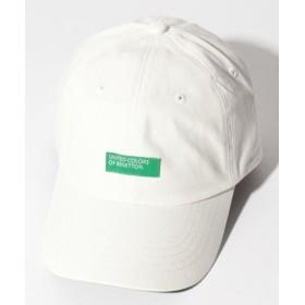 (BENETTON (UNITED COLORS OF BENETTON)/ベネトン(ユナイテッド カラーズ オブ ベネトン))ベネトンボックスロゴキャップ・帽子/レディース ホワイト