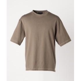 (SHARE PARK/シェアパーク)カラー ビッグTシャツ/メンズ ダークブラウン系