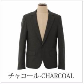 (THE CASUAL/ザ カジュアル)(ビブジョー×スプ) VIBGYOR×SPU 日本製テーラードジャケット/メンズ チャコールグレー 送料無料
