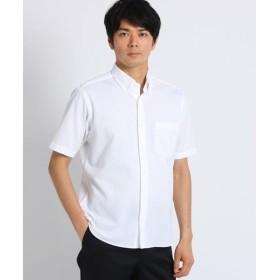 TAKEO KIKUCHI / タケオキクチ [速乾 防臭 ストレッチ]シアサッカー半袖シャツ