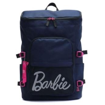 (GALLERIA/ギャレリア)バービー リュック Barbie シエラ スクールバッグ リュックサック スクエアタイプ デイパック バックパック 通学 スクール スポーツ 19L B4 55/レディース ネイビー 送料無料