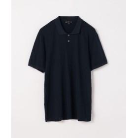 (TOMORROWLAND/トゥモローランド)リュクス ジャージーポロシャツ MELJ3293/メンズ 68ネイビー系 送料無料