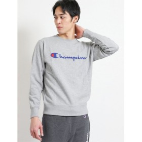 (TAKA-Q/タカキュー)チャンピオン/Champion クルーネックスウェットシャツ/メンズ グレー