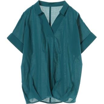 【5,000円以上お買物で送料無料】womens ウエストタックスキッパーシャツ