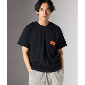 (JOURNAL STANDARD/ジャーナルスタンダード)THUMPERS NYC for JS/サンパースexclusiveモデル::WORK Tシャツ/メンズ ネイビー