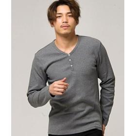 (SILVER BULLET/シルバーバレット)CavariA【キャバリア】ネックが選べるスパンテレコ長袖Tシャツ/メンズ その他系2