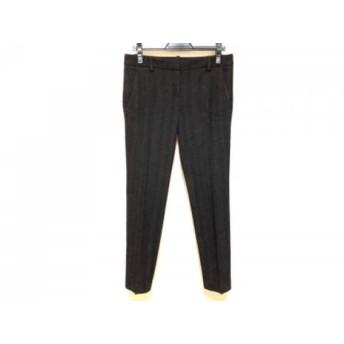 【中古】 セオリー theory パンツ サイズ4 S レディース 黒 グレー