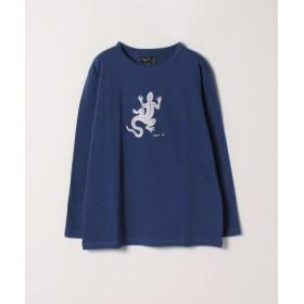 (agnes b./アニエスベー)SF64 TS レザールTシャツ/レディース ブルー 送料無料